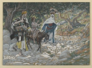 The-return-from-Egypt.-James-Tissot.