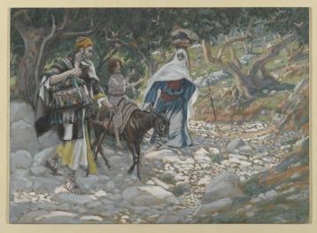 The-return-from-Egypt.-James-Tissot.